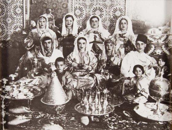Famille juive de Fès