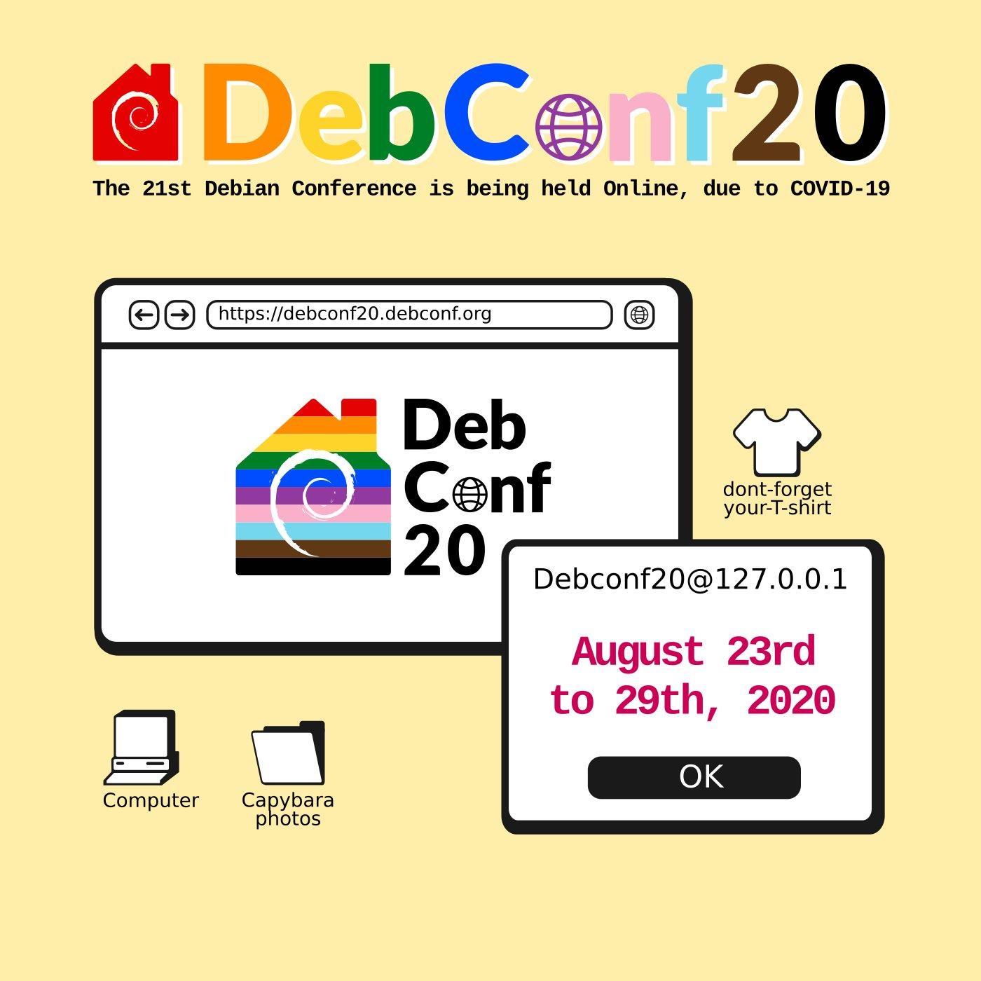 DebConf20-Online-visual-identity